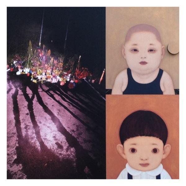 "From the exhibition ""Artist File"" 2013 (Artists: Darren Almond, Jun Azumatei, Yeondoo Jung, Shiho Kagabu, Takamasa Kuniyasu, Nalini Malani, Hideaki Nakazawa, Lieko Shiga)"