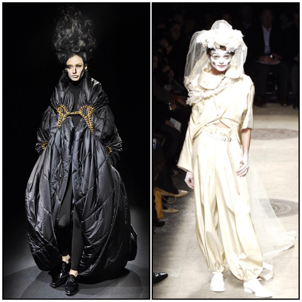 Comme Des Garcons  Fashion Show Tokyo Japan