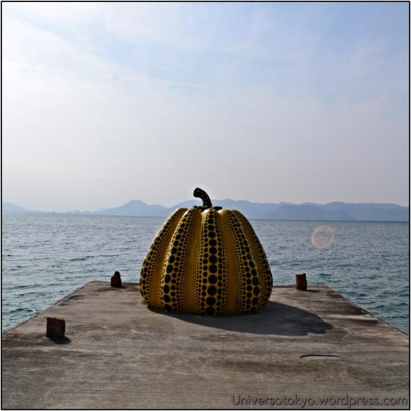 Pumpkin (2006), Naoshima