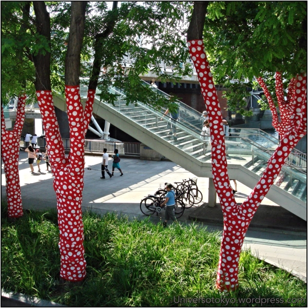 """Ascension of Polka Dots on the Trees"" 2009, London, UK"