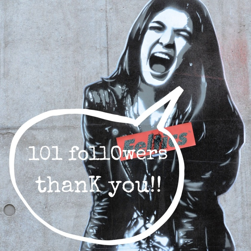 101 followers