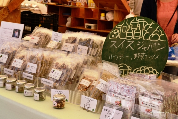 Farmers' market: refreshing and tasty Herb Tea
