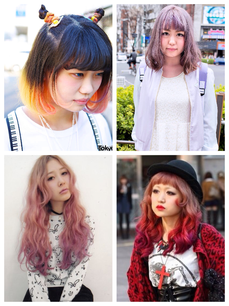 Stupendous Tokyo Hairstyles All The Colors In The Rainbow Universotokyo Hairstyle Inspiration Daily Dogsangcom