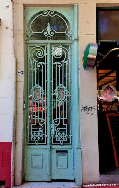 Old Colonial Door