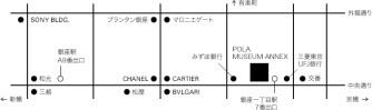 Pola Museum Annex map