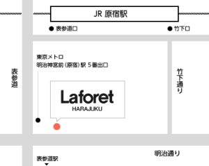 laforet map