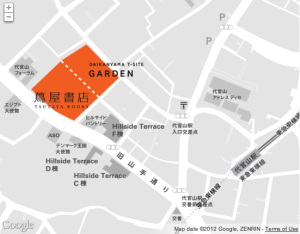 Daikanyama T Site map