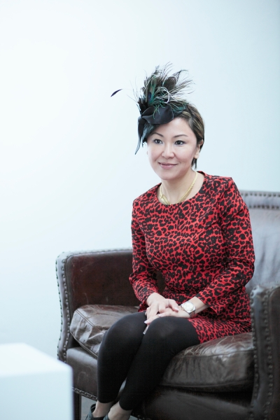 Milliner Misa Harada, Photo via The Huffington Post UK