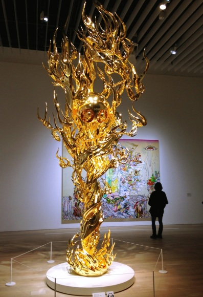 'Flame of Desire – Gold', 2013