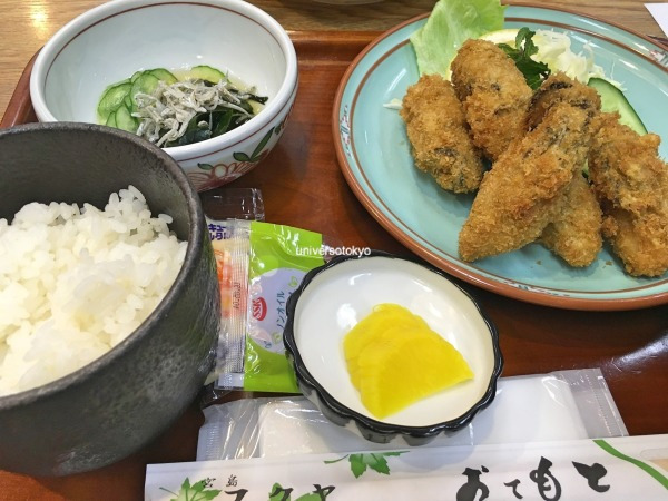 Kaki Fry for lunch (Fried Oysters)